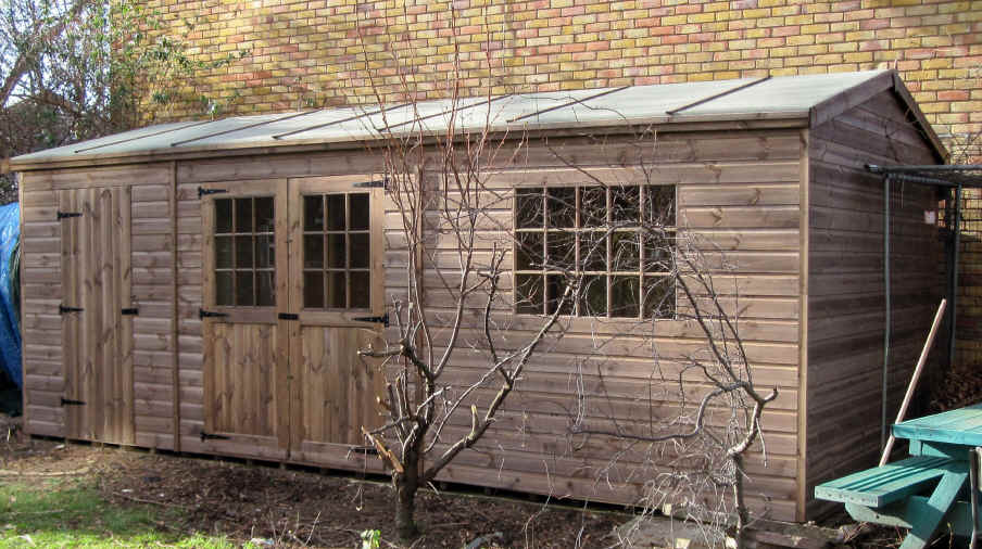 We Install Our Sheds Free Of Charge