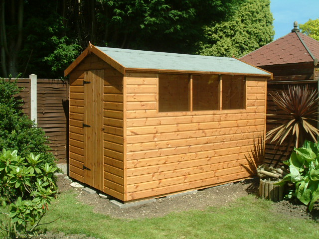 Garden Sheds By Sheds Unlimited 10x6 Apex