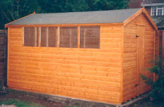 apex garden shed by sheds unlimited - Garden Sheds Essex
