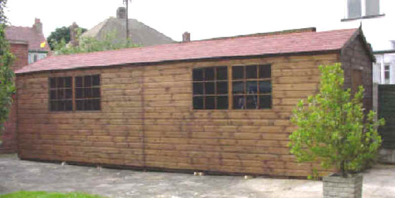 Mk wooden sheds hull for Large garden buildings