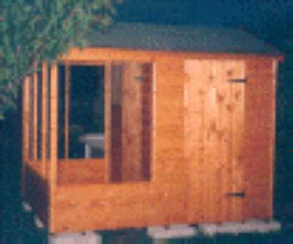 8 x 6 aviary garden shed by Sheds Unlimited