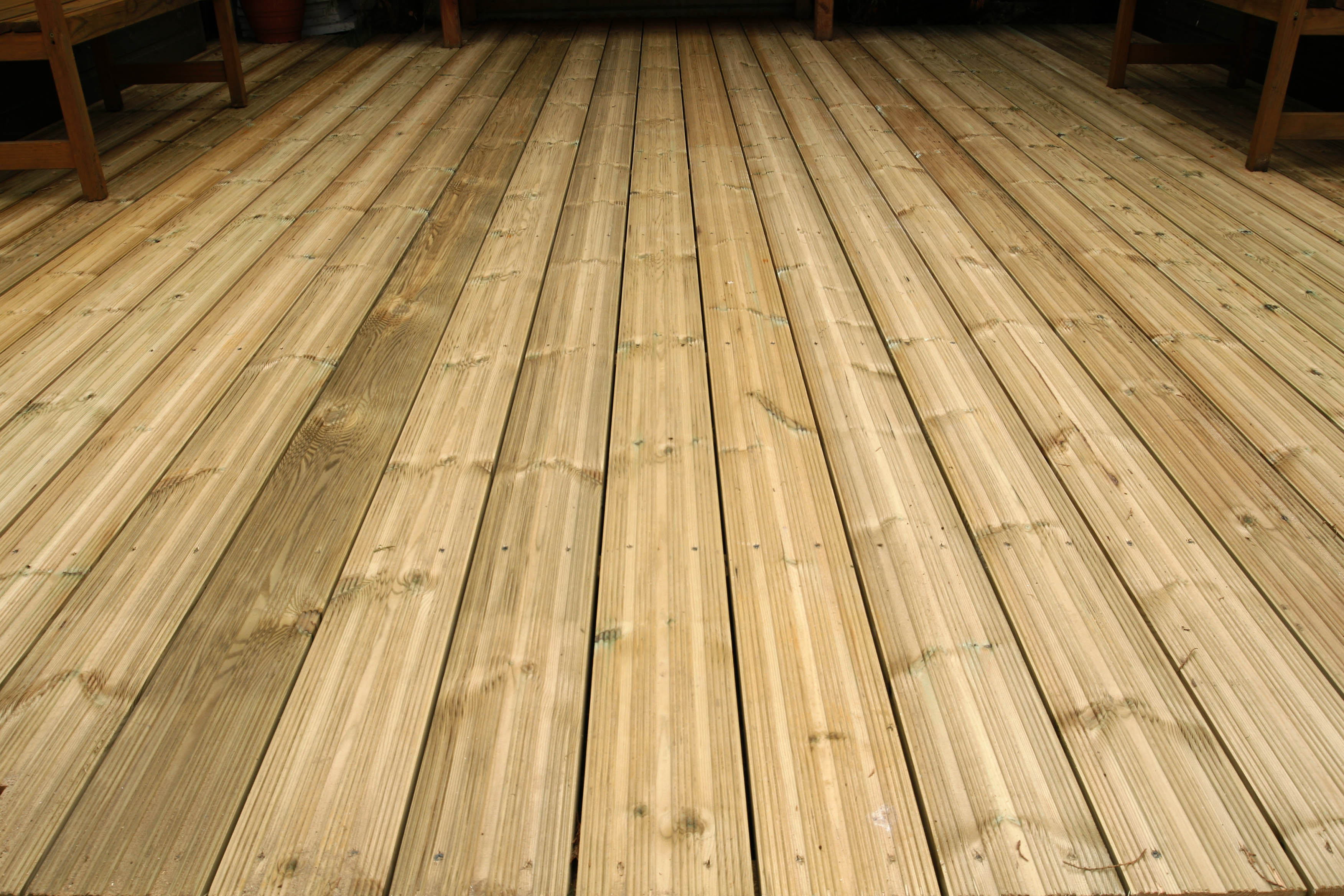 Decking from sheds unlimited timber decking supplied and for Balcony decking boards